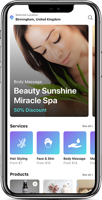 customer saloon app
