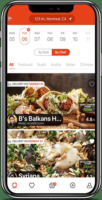 restaurant customer app