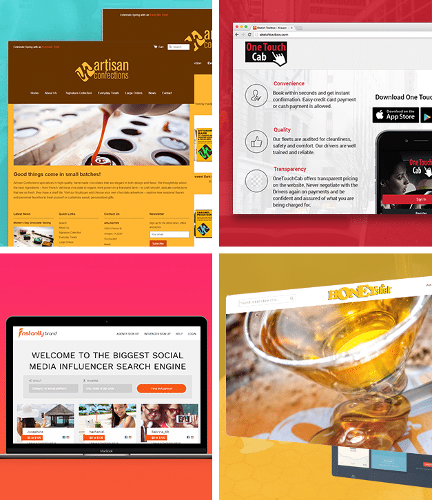 our web work