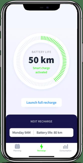 EV charger application