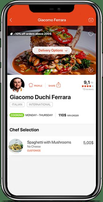 restaurant owner app