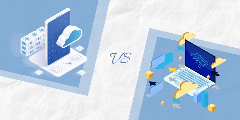 Mobile Cloud Apps versus Web-based Apps