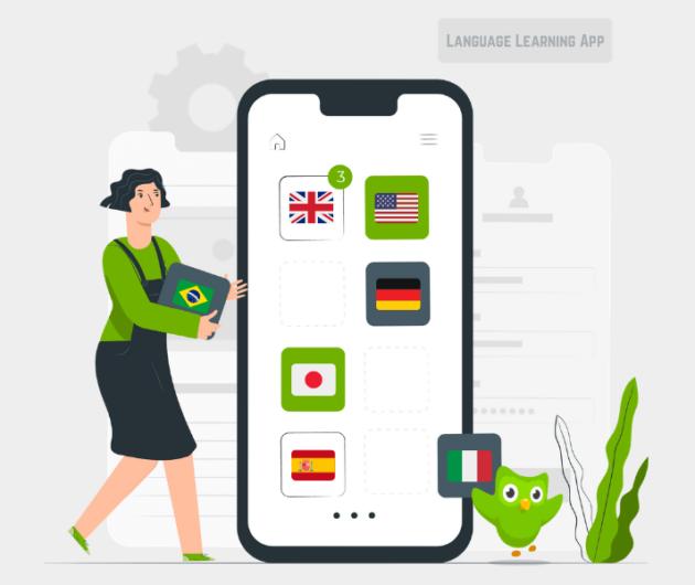 duolingo clone app