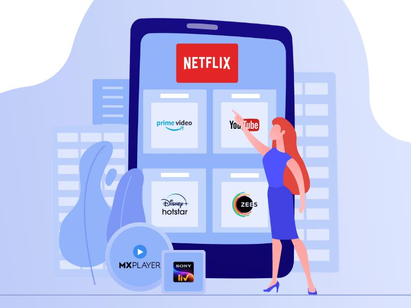 OTT platform app development services