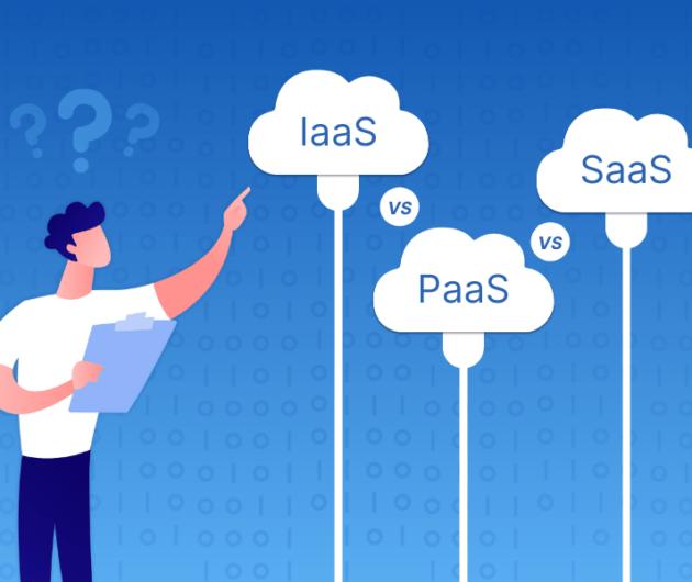 iaas vs pass vs saas cloud computing model