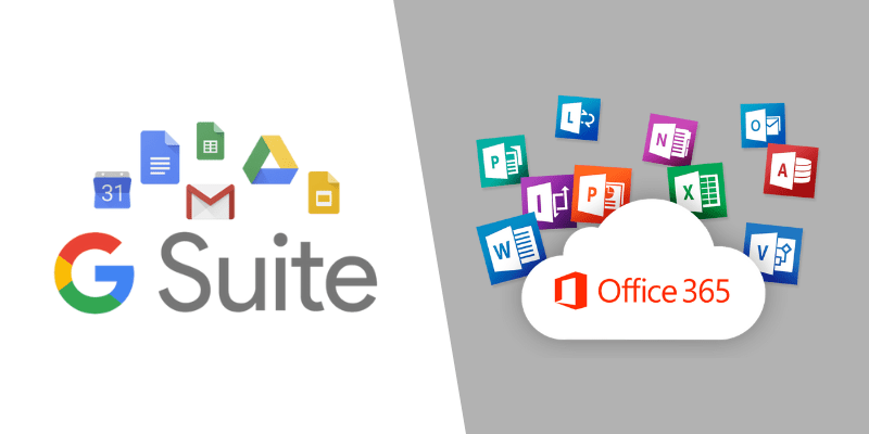 gsuite and office 365