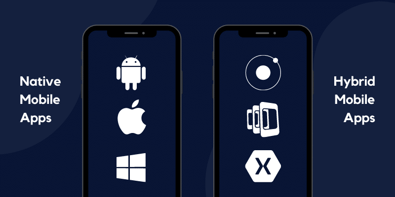 native and hybrid apps